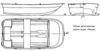 Общее расположение картоп-лодки «Океан»