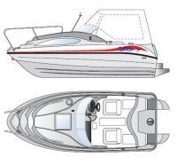 Общее расположение катера Вектор Si