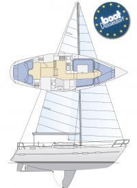 Общее расположение яхты Southerly 115