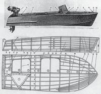 Общий вид и конструкция катера