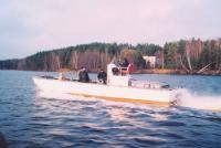 Общий вид катера Каверна