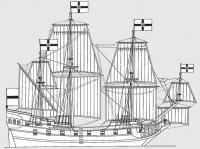 Общий вид корабля