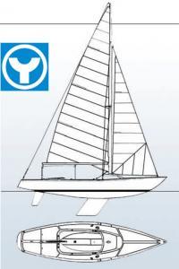 Общий вид яхты-двойки нового олимпийского класса