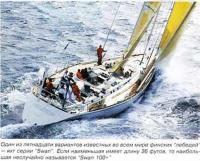 "Один из пятнадцати вариантов яхт серии ""Swan"""