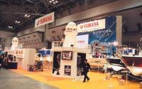 Одно из центральных мест занимала экспозиция могущественной империи Yamaha