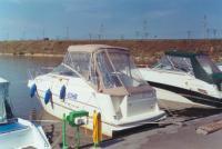 Одно из заправочных мест для парусных и моторных яхт