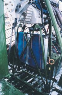 Огромный, рассчитанный на жару радиатор