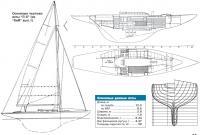 Основные чертежи яхты Л-6