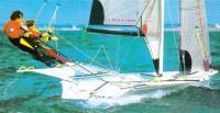 Откренивание яхты экипажем
