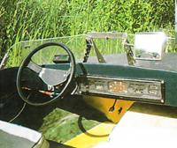 Панель управления катером