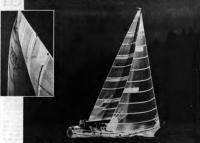 Паруса фирмы «Собстад» на крейсерской яхте