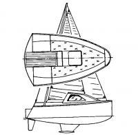 Парусная минияхта «Жук-350»