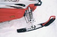 Передняя подвеска снегохода