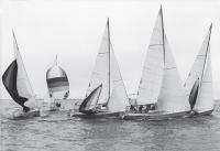 Первая гонка яхт First Class 8, 1983 г.