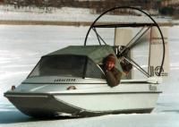 """Первый """"Юкон"""" на заводских испытаниях зимой 1993 года"""