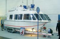 Плавдача Seacamper-795 на выставке