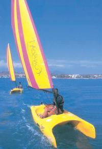 Пляжный парусник «Funboat»