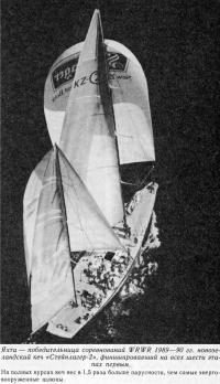 Победительница соревнований WRWR 1989—90 гг. новозеландский кеч «Стейнлагер-2»