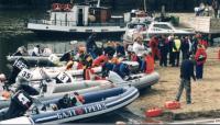 Подготовка надувных лодок к стартам