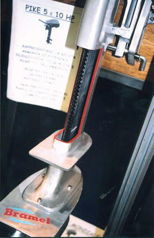Подвесной электромотор фирмы «Bramel»