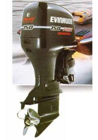 """Подвесной мотор """"Evinrude 150 FFI"""""""
