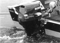 Подвесной мотор «Suzuki» на транце