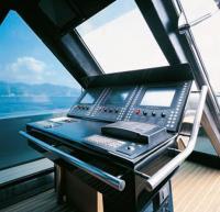 Пост управления яхтой