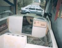 "Постройка корпуса ""Jazz-530"" в гараже"