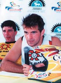 Пресс-конференция со спортсменами