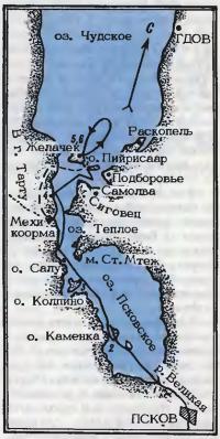 Примерная схема маршрута плавания на «Славянке»