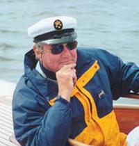 """Принц Дании Хенрик, рулевой яхты """"Danish Blue"""""""