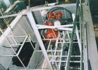Процесс постройки катера (рулевая рубка)