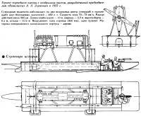 Проект торпедного катера с воздушным винтом