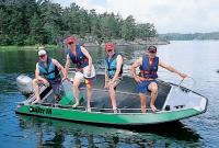 Проверка остойчивости 5-местной лодки