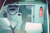 Расположенное слева место водителя