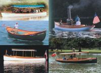 Различные старинные катера