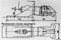Размерная схема водомета Jet 212