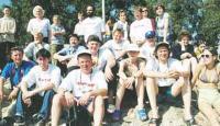 Редакционная команда поддержки — одна из самых многочисленных в лагере участников марафона