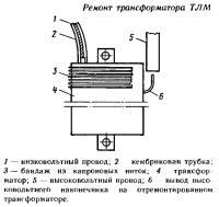 Ремонт трансформатора ТЛМ