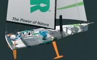 """Рентген-схема яхты """"Ecover"""""""