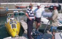 Ричард в своей лодке