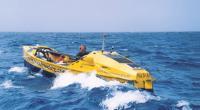Ричард Вуд на лодке-ветеране, неслучайно получившей №1