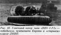 Рис. 10. Гоночный катер типа «BBV-1-F1»