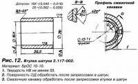 Рис. 12. Втулка шатуна 2.117-002