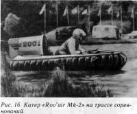 Рис. 16. Катер «Rov'air Mk-2» на трассе соревнований