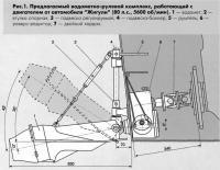 Рис. 1. Предлагаемый водометно-рулевой комплекс