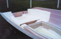 Рис. 1. Топкоут на внутренней поверхности секции корпуса лодки