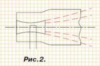 Рис. 2. Карбюратор с двойным диффузором