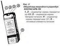 Рис. 2. Общий вид аварийного радиобуя КОСПАС АРБ-ПК