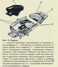 Рис. 3. Поддон мотора «Вихрь»